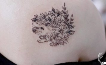 22 Extremely Cute Hedgehog Tattoo Designs