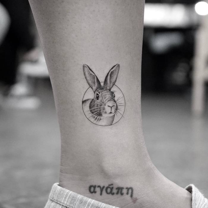 Rabbit Tattoo by Mr. K
