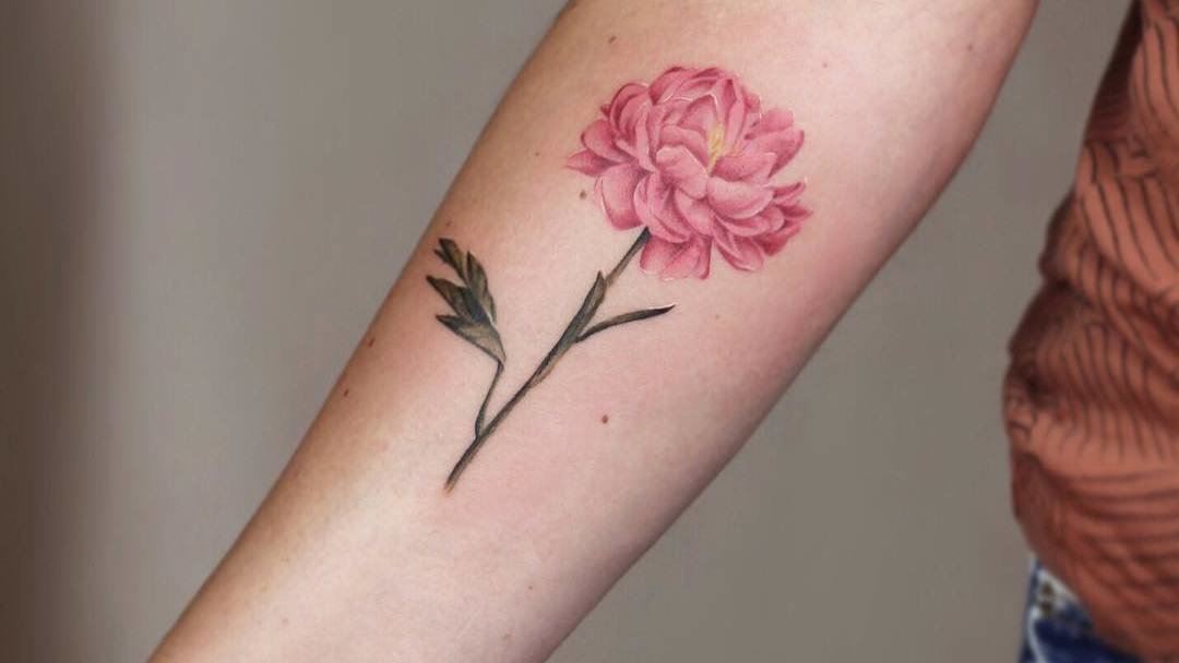 Gorgeous Botanical Tattoo Designs by Cindy van Schie