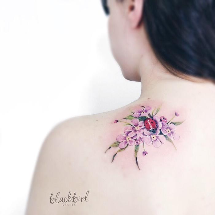 Nature Inspired Tattoo by Luiza Oliveira