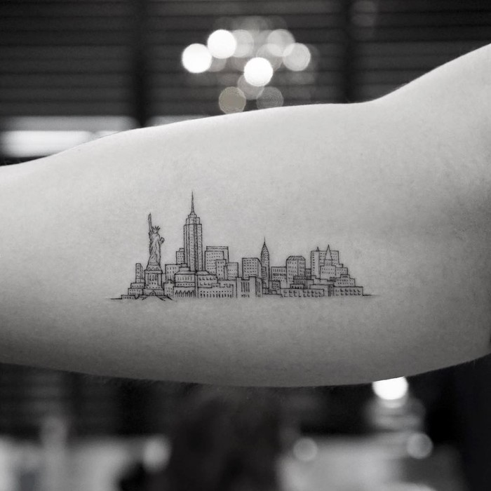 New York City Tattoo by Mr. K