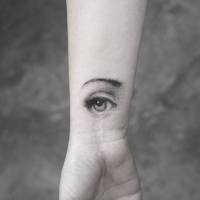 Eye Tattoo by Mr. K