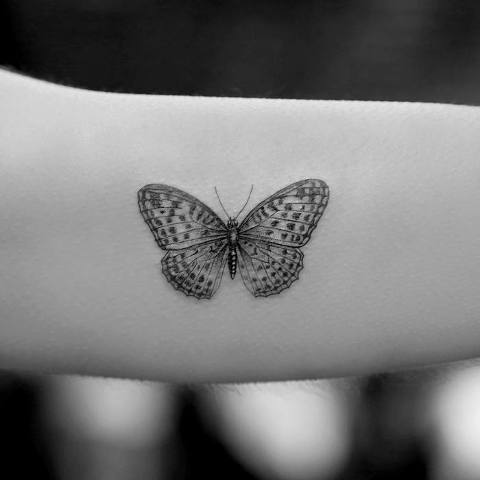 Butterfly Tattoo by Mr. K