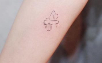 40 Tiny and Discreet Tattoos by Witty Button