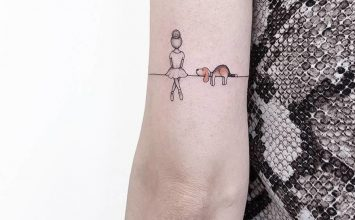 30 Tiny and Adorable Tattoos by Ahmet Cambaz